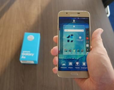 Découvrez la Galaxy A9 de chez Samsung