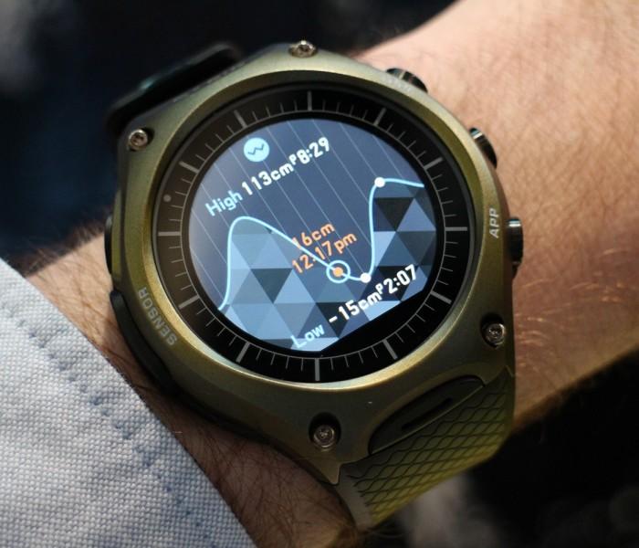 La nouvelle montre Casio, le WSD-F 10
