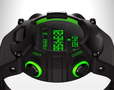 La nouvelle version de la montre Razer : le Nabu Watch