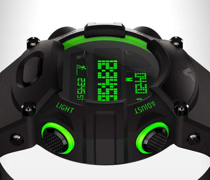 La nouvelle version de la montre Razer : le Nabu Watch