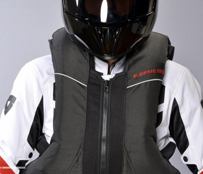 Hi-Airbag, l'air bag connecté pour la sécurité des motards