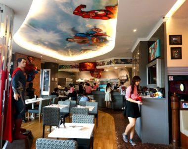 Vivez une expérience gourmande unique au restaurant DC Comics, à Singapour