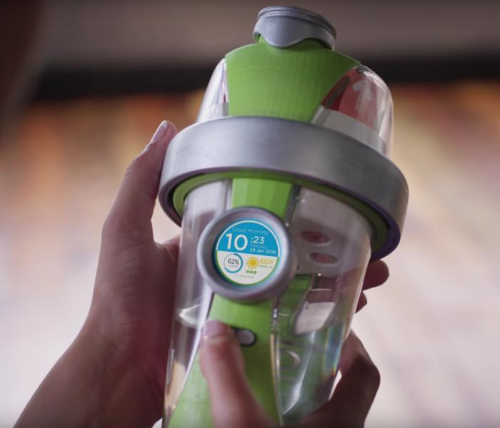 LifeFuels lance une bouteille connectée d'un nouveau genre